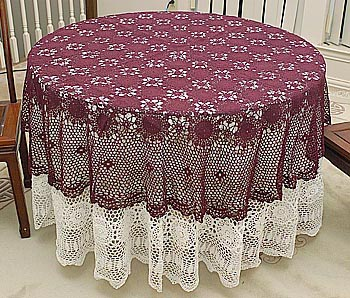 How to Crochet Oval Tablecloths | eHow.com