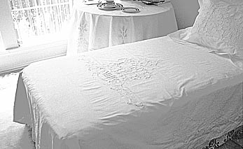 Lotus Style Hand Embroidery Duvet Cover