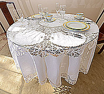 Round Tablecloth 90 Inches Round