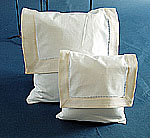 ivory color baby envelope pillows, envelope pillows.